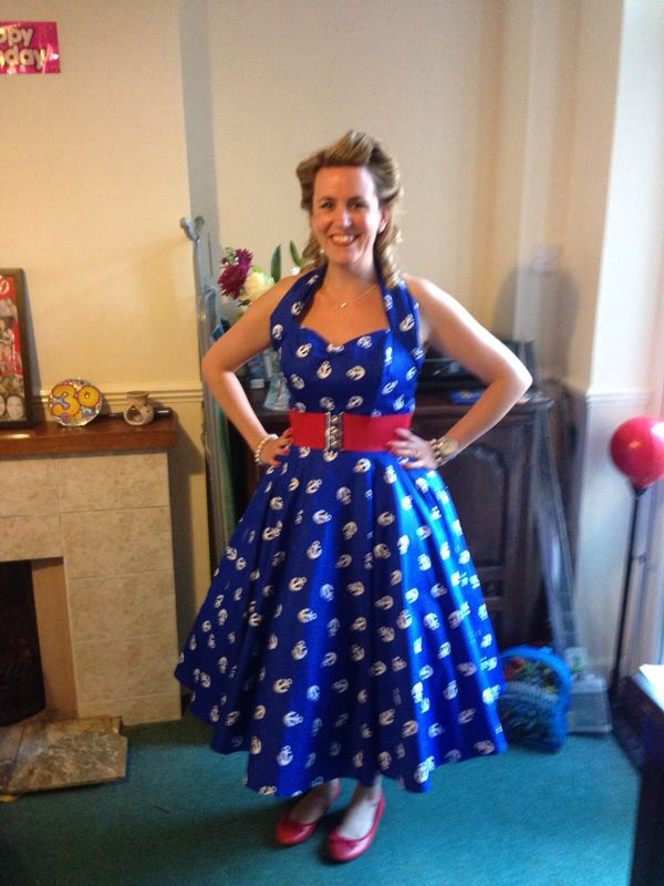 50's dress and hairstyle   30th rockabilly birthday ideas   Pinterest