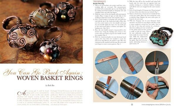 Belle armoire jewelry magazine wirework tutorials for Belle armoire jewelry magazine subscription