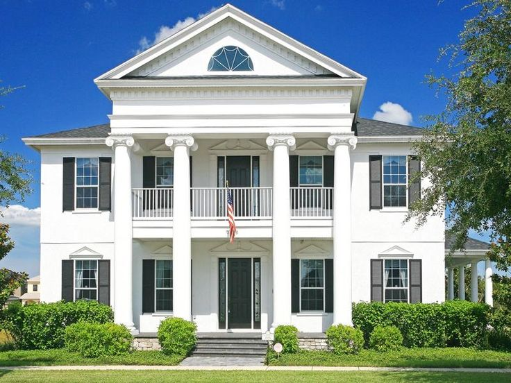 Colonial style home colonial homes pinterest for House plans colonial style homes