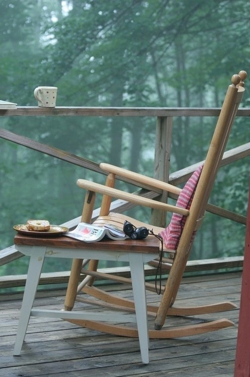 Coffee outdoors in the smokies my favorite