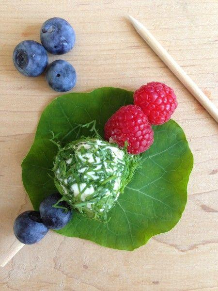 Feta - Kasseri Cheese Balls with Fresh Herbs   via California Greek ...
