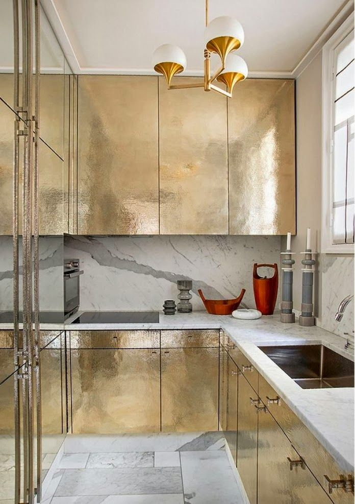 metallic kitchen cabinets gold metallic kitchen cabinets this is great