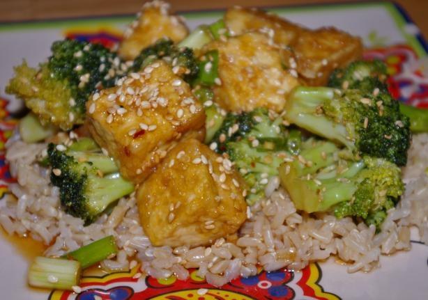 Sesame Tofu by CardaMom http://www.food.com/recipe/sesame-tofu-177242