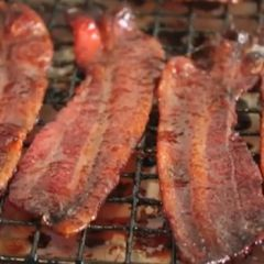 Spicy Candied Bacon | Apps | Pinterest