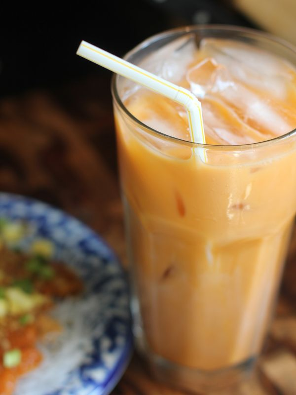 Thai Iced Tea recipe. YUM! Just need to buy a mix and carry it ...