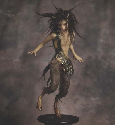 Dancing Satyr by Wendy Froud
