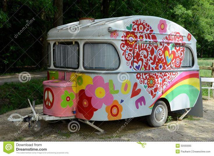 groovy caravan camper love pinterest. Black Bedroom Furniture Sets. Home Design Ideas