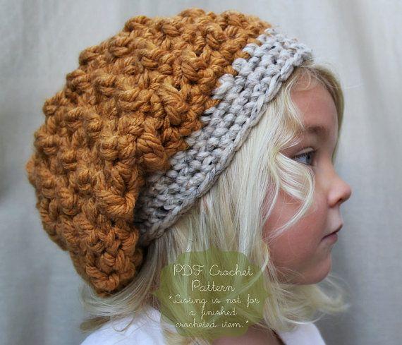 Crochet Pattern For Toddler Beret : Crochet Pattern: The Hadlee Beret -Toddler, Child, & Adult ...