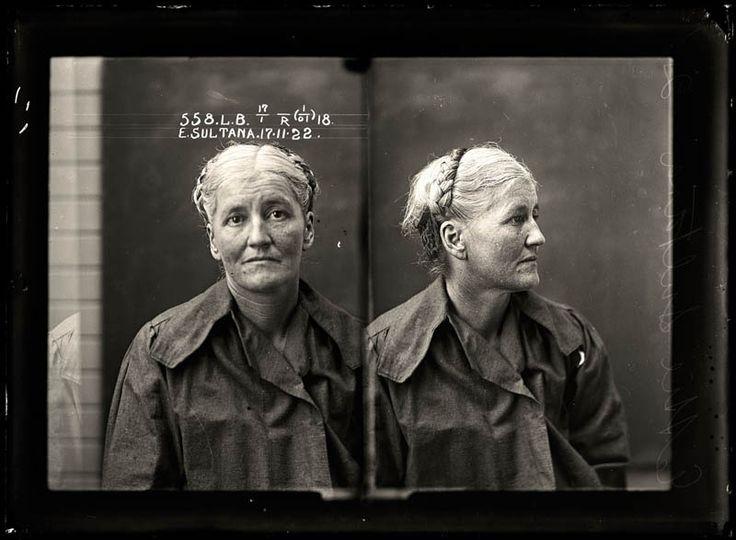 1930s and older mugshots - women