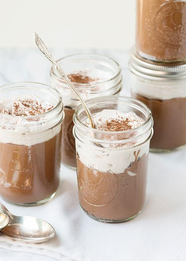 Vegan Chocolate Pudding with Whipped Coconut Cream | Recipe