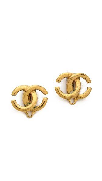 Shop now: Chanel earrings