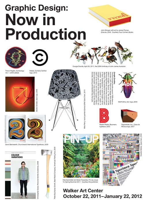 Graphic Design: Now in Production | A&D3 | Pinterest