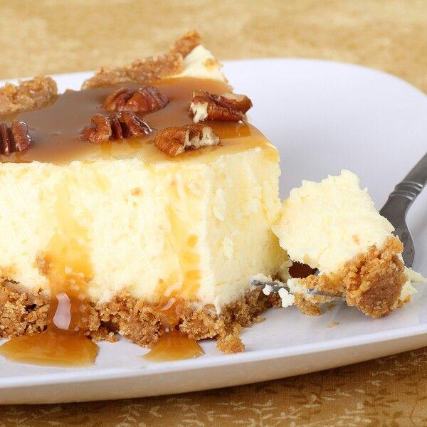 Caramel pecan cheesecake | Desserts | Pinterest