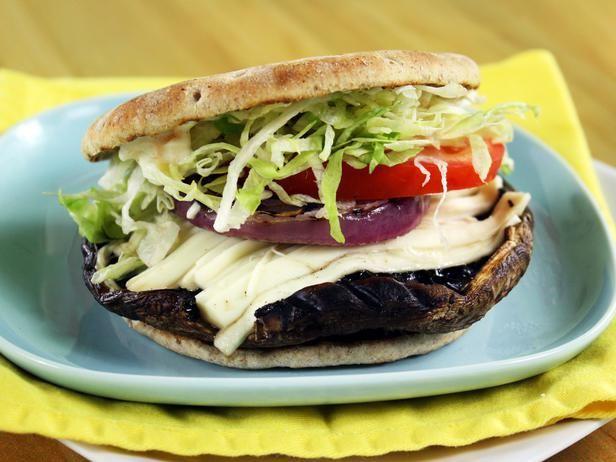 Ring-My-Bella Mushroom Sandwich #Recipe