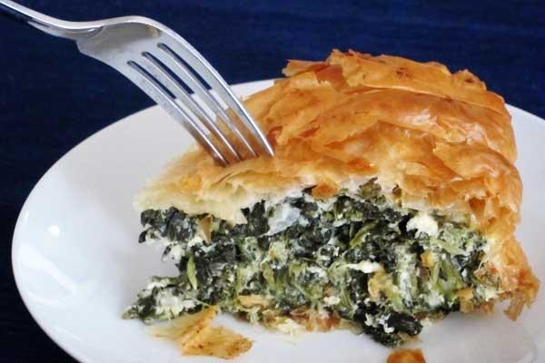Spinach Pie (Spanakopita) Recipe: Adapted from Ina Garten