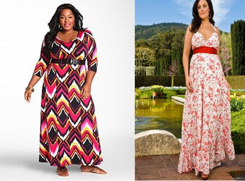 Plus Size Maxi Dress Pattern Free - Prom Stores