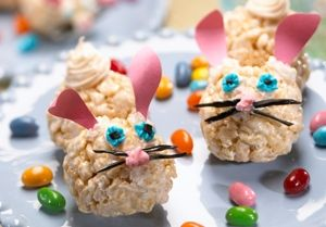 Easter bunny treats from recipe.com