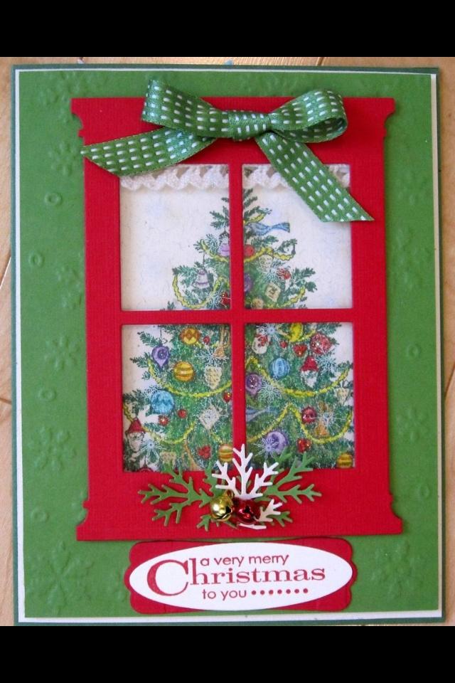 Christmas card | Card Ideas | Pinterest