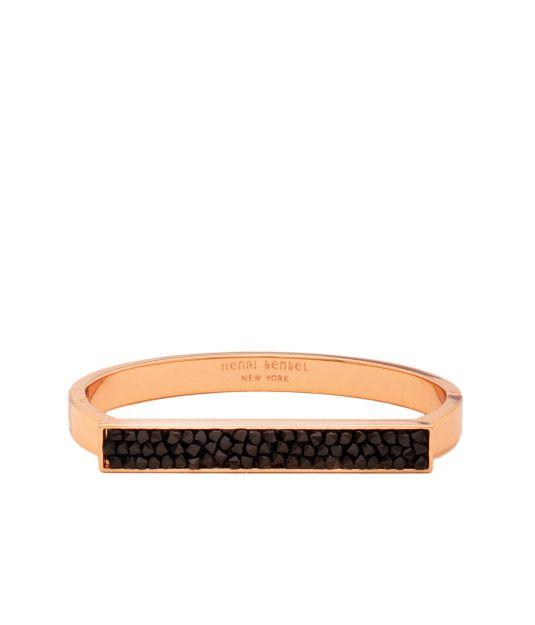 Chelsea Crystal Rocks Cuff Bracelet Henri Bendel