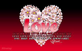 valentine card wallpaper