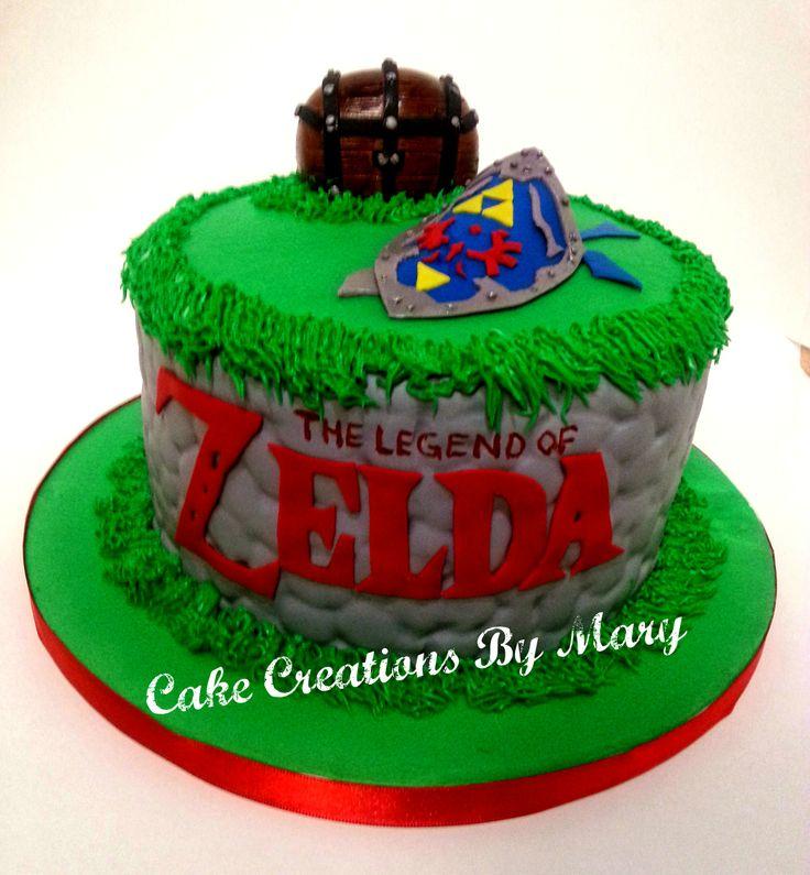 The Legend Of Zelda Cake My Creations Pinterest