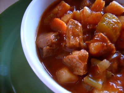 ...Sunday Beef Stew. Made this last night...YUM! Love me a good stew ...