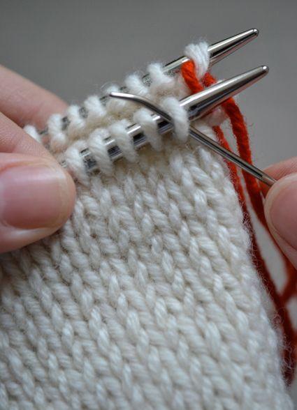 Kitchener Stitch Tutorial - Kitchener Stitch - Knitting Crochet Sewing ...