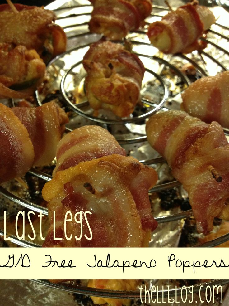 Gluten Free & Dairy Free Jalapeno Poppers