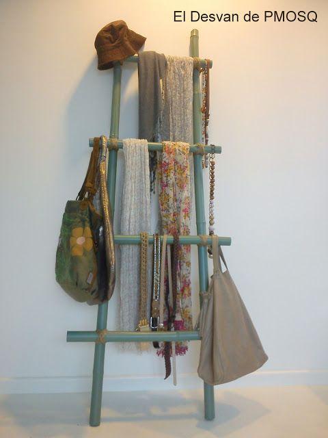 Neutradecor escaleras de madera o bamb - Escaleras de madera adorno ...