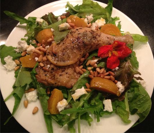 dinner salad for a weeknight heat wave provencial chicken salad love ...