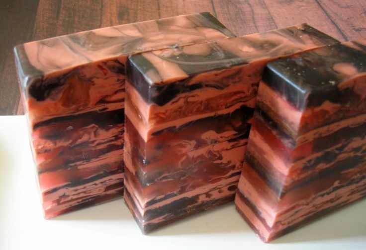 Soap for Men - Spiced Mahogany with Shea Butter and Olive Oil - Glyce ...