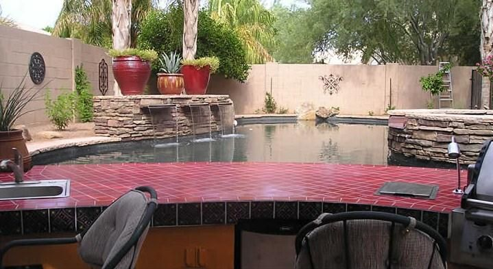 Pin by sherry scruggs on pools outdoor living pinterest for Pool design phoenix