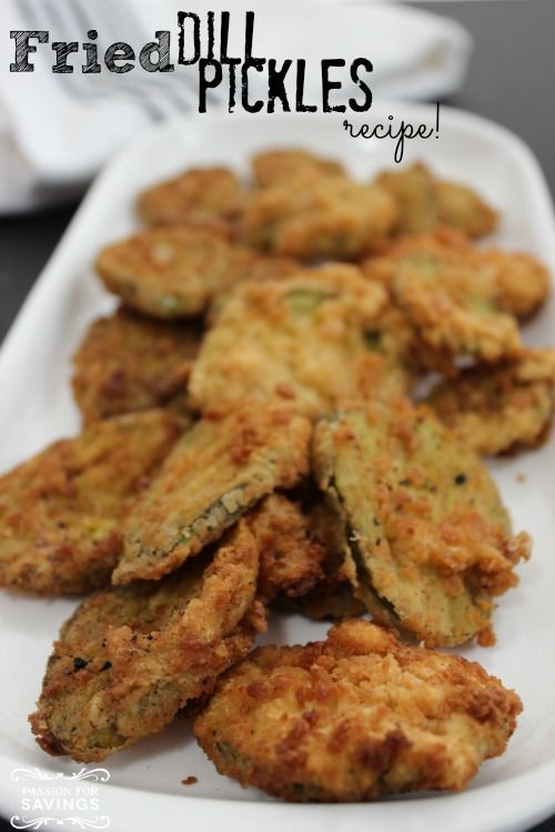 Fried Dill Pickles | Recipe