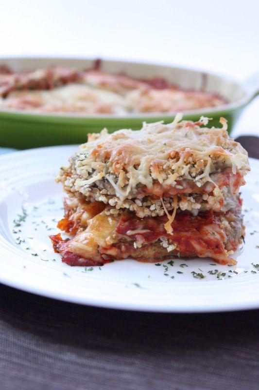 Gluten-free Baked Eggplant Parmesan | Gluten-Free Entrees | Pinterest