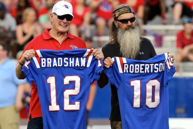 use to be the back up quarterback for Terry Bradshaw at Louisiana Tech ...