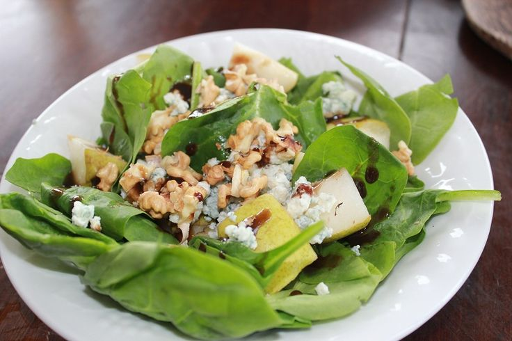 ... spinach pear and pancetta salad recipe spinach pear and feta salad