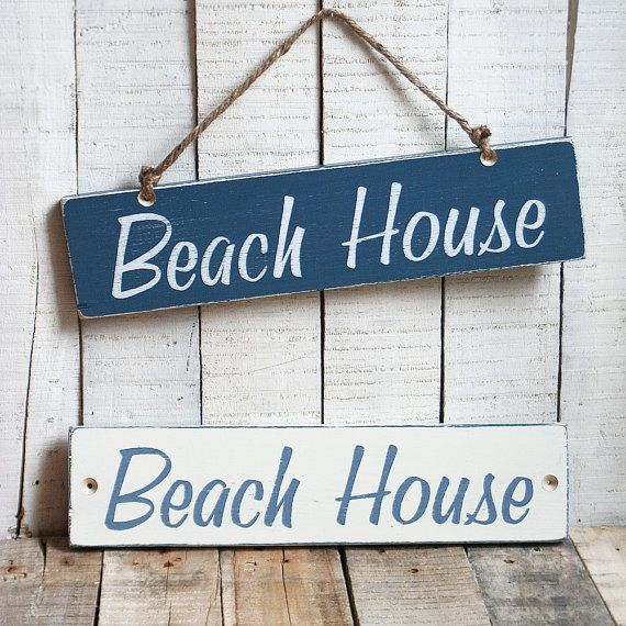 Custom beach house sign beach house pinterest for Custom beach house