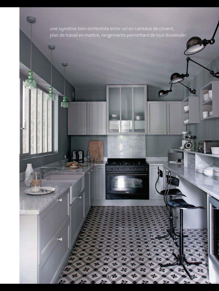 Cocinas largas interiores cocinas pinterest for Cocinas largas y estrechas