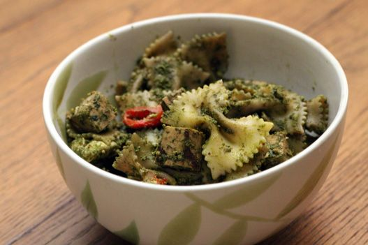 Swiss Chard Pesto. Easy and yummy! #SensationalSides