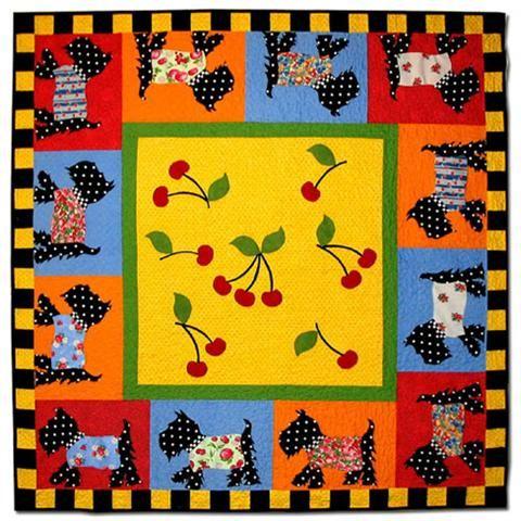 Quilt Pattern For Scottie Dog : SCOTTIE DOG QUILT PATTERN Sewing quilts dogs Pinterest
