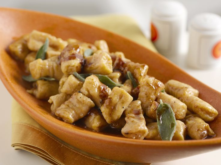 Sweet Potato Gnocchi with Maple Cinnamon Sage Brown Butter from ...