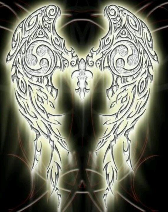 celtic angel wings cool tattoos pinterest. Black Bedroom Furniture Sets. Home Design Ideas