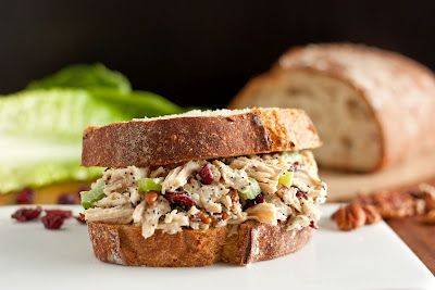 Cooking Classy: Sonoma Chicken Salad Sandwiches