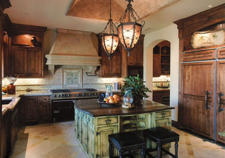 Old world kitchen old world tuscan decor inspiration for Old world tuscan kitchen designs