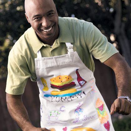 Love the fathers day apron!   Father's Day craft roundup | MNN - Mother Nature Network