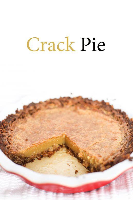 Crack Pie Recipe — Dishmaps