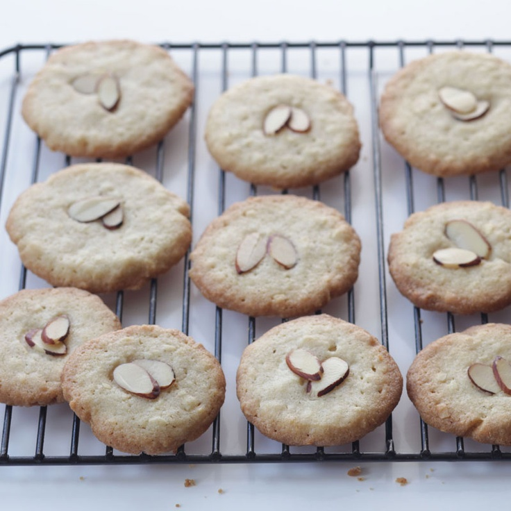 Chinese Almond Cookies | Cookies | Pinterest
