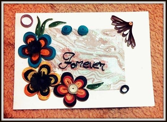 Quilling Frame tutorial | My Quilling Crafts | Pinterest