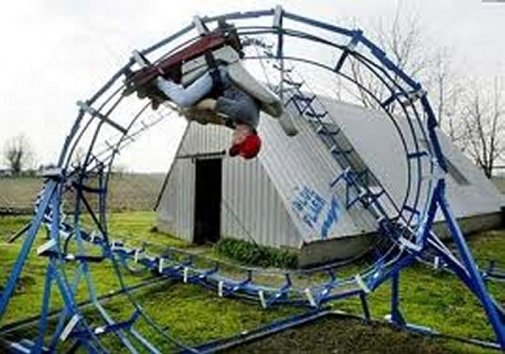 five scary backyard roller coasters awesome pinterest