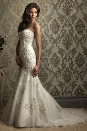 Mermaid Wedding Dress But In Black Dark Wedding Pinterest